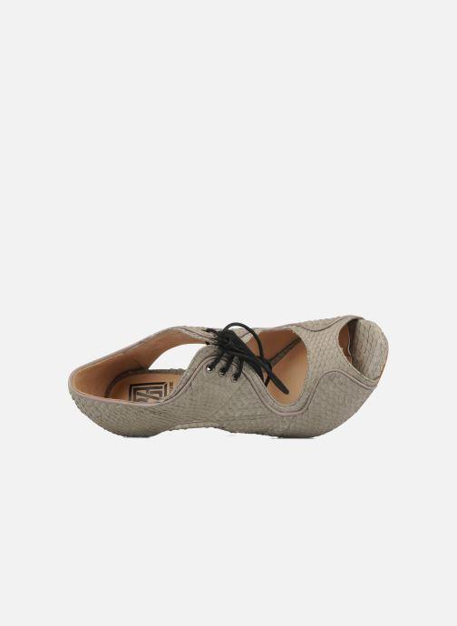 Sandales et nu-pieds Pour La Victoire Rima Gris vue gauche