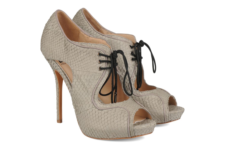 Sandales et nu-pieds Pour La Victoire Rima Gris vue 3/4