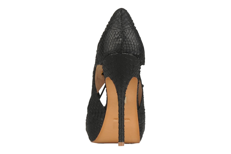 Sandales et nu-pieds Pour La Victoire Rima Noir vue droite