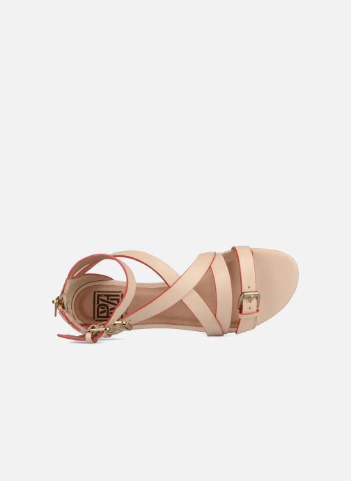 Sandales et nu-pieds Pour La Victoire Bryn Beige vue gauche