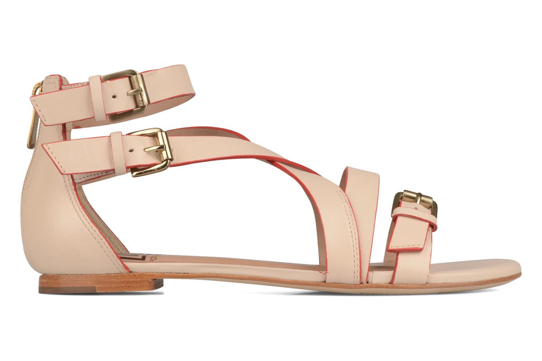 Sandalen Pour La Victoire Bryn beige ansicht von hinten
