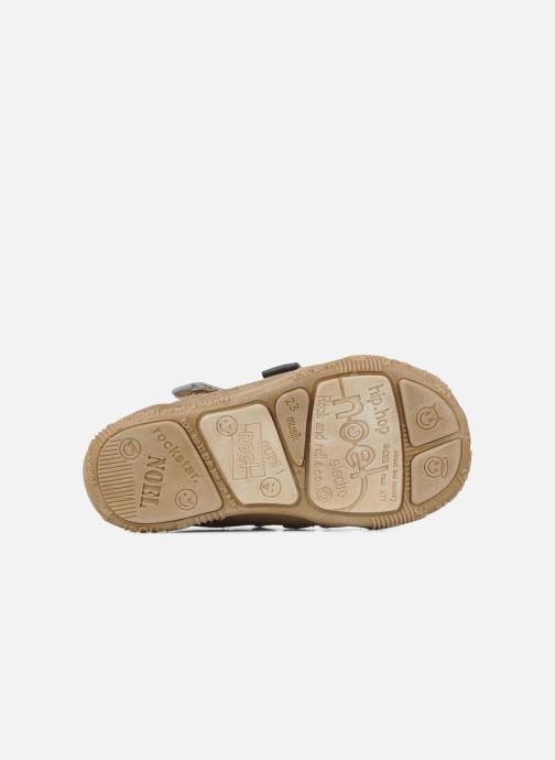 Bottines et boots Noël Mini ring Marron vue haut