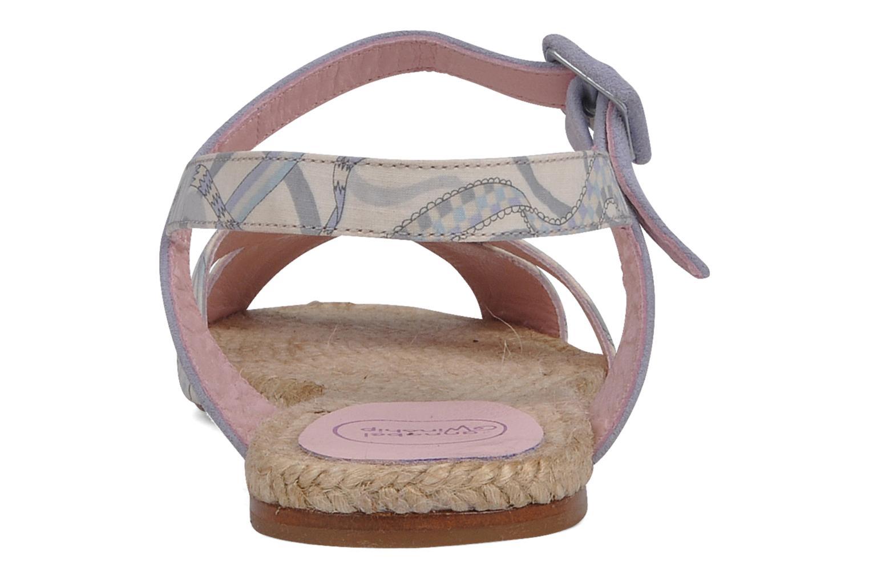 Sandales et nu-pieds Annabel Winship Hopper Gris vue droite