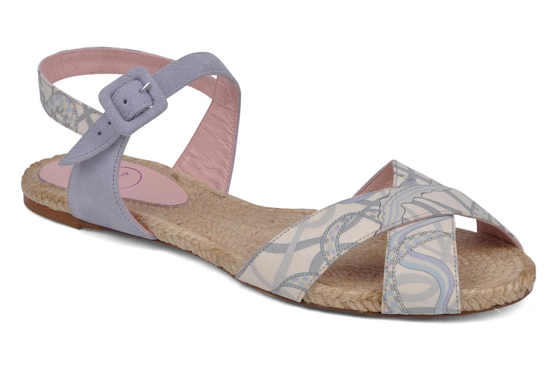 Sandales et nu-pieds Annabel Winship Hopper Gris vue détail/paire