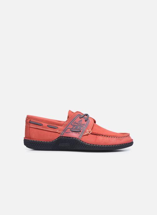 Chaussures à lacets TBS Globek Rouge vue derrière