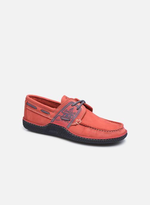 Chaussures à lacets TBS Globek Rouge vue détail/paire