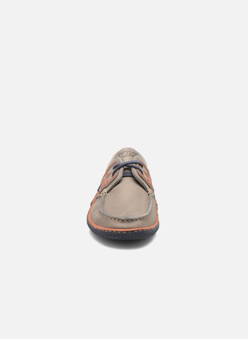 Lace-up shoes TBS Globek Grey model view