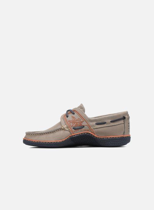 Zapatos con cordones TBS Globek Gris vista de frente