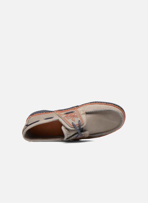 Zapatos con cordones TBS Globek Gris vista lateral izquierda