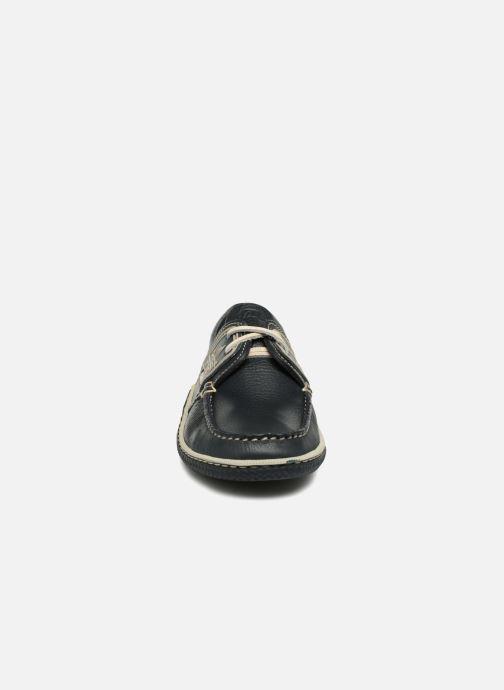 Schnürschuhe TBS Globek schwarz schuhe getragen