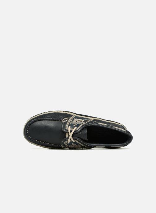 Zapatos con cordones TBS Globek Negro vista lateral izquierda
