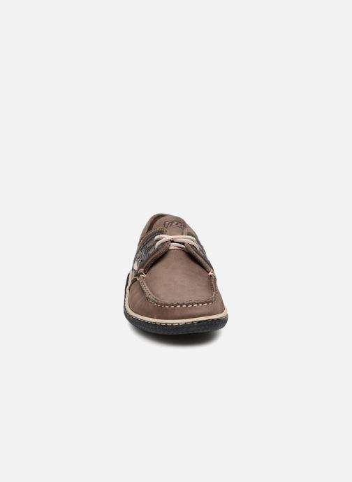 Zapatos con cordones TBS Globek Gris vista del modelo