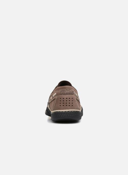 Chaussures à lacets TBS Globek Gris vue droite