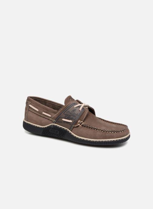 Chaussures à lacets TBS Globek Gris vue détail/paire
