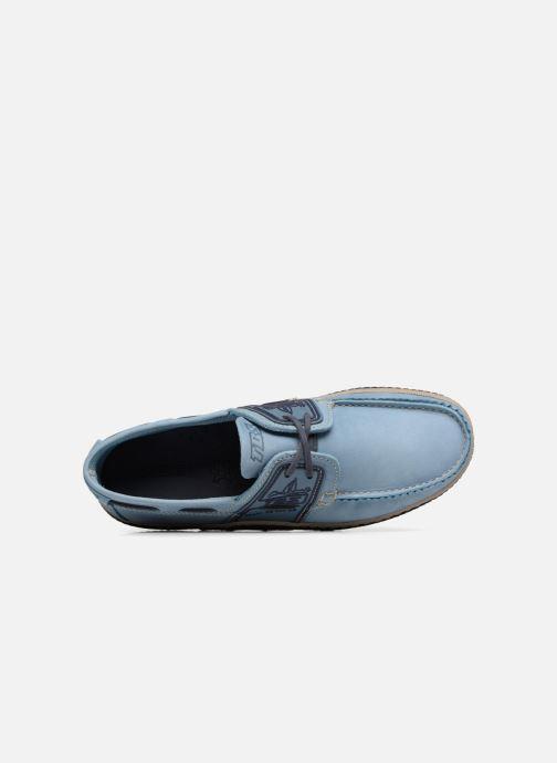Scarpe con lacci TBS Globek Azzurro immagine sinistra