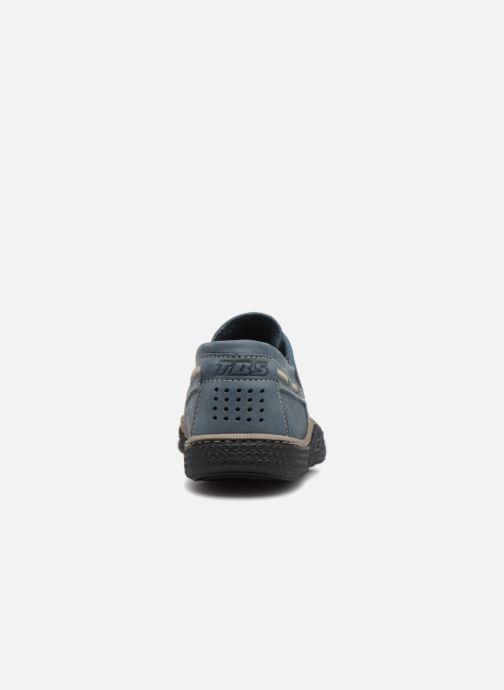 Scarpe con lacci TBS Globek Azzurro immagine destra