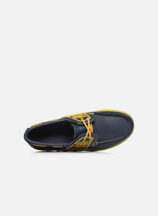 Chaussures à lacets TBS Globek Bleu vue gauche