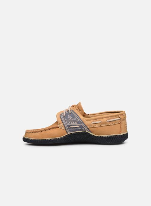 Chaussures à lacets TBS Globek Beige vue face