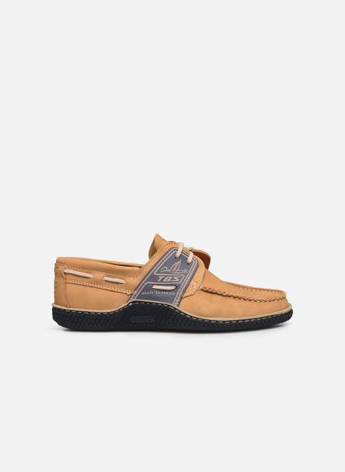 Chaussures à lacets TBS Globek Beige vue derrière