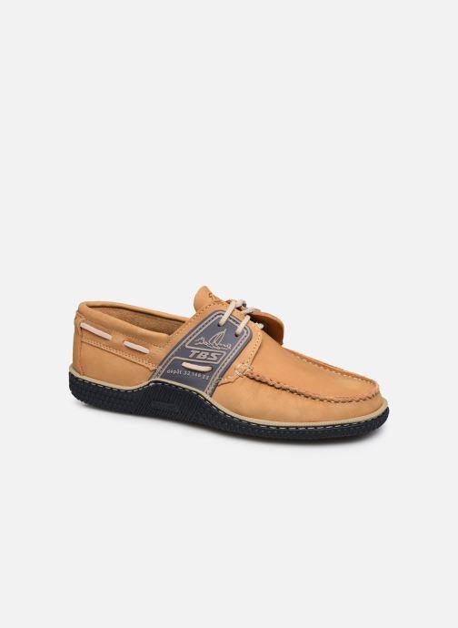 Chaussures à lacets TBS Globek Beige vue détail/paire