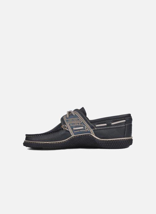 Chaussures à lacets TBS Globek Bleu vue face