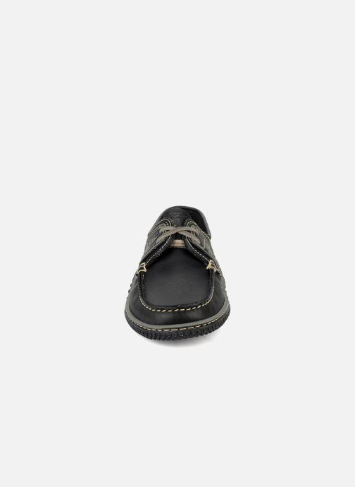 Chaussures à lacets TBS Globek Noir vue portées chaussures
