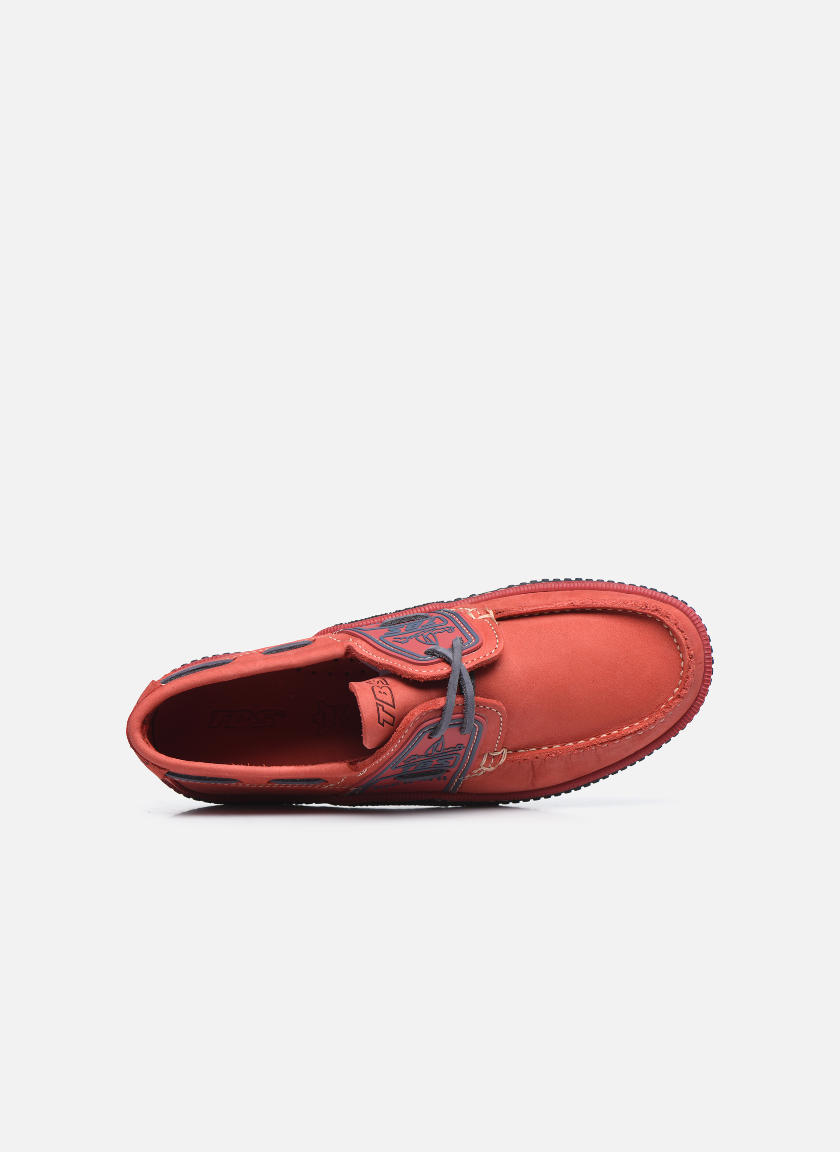 Veterschoenen TBS Globek Rood links
