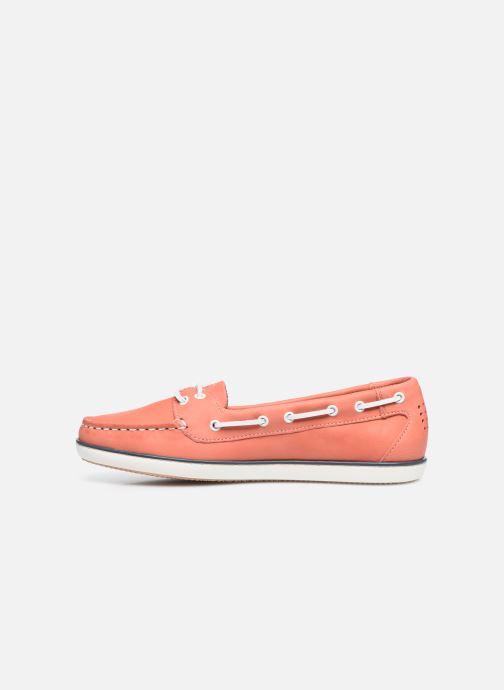 Chaussures à lacets TBS Clamer Orange vue face