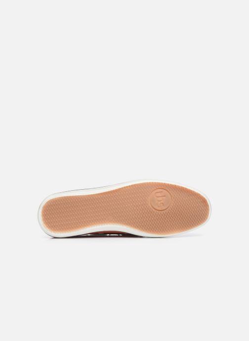 Chaussures à lacets TBS Clamer Orange vue haut