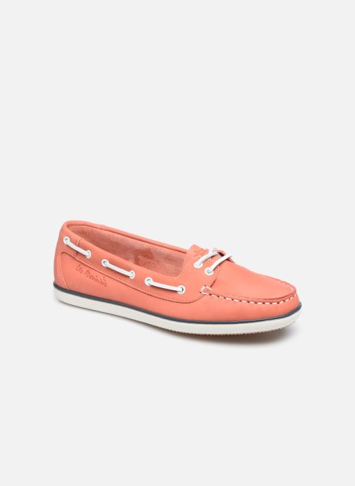 Chaussures à lacets TBS Clamer Orange vue détail/paire