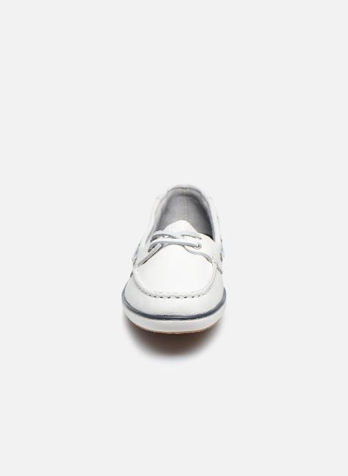 Scarpe con lacci TBS Clamer Bianco modello indossato