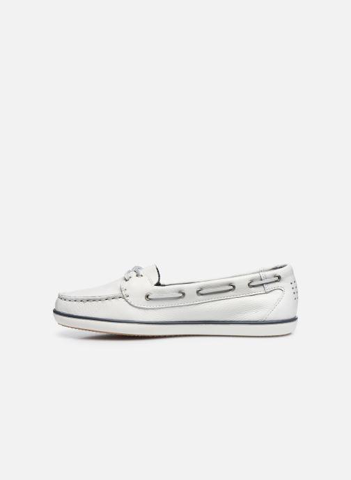 Zapatos con cordones TBS Clamer Blanco vista de frente