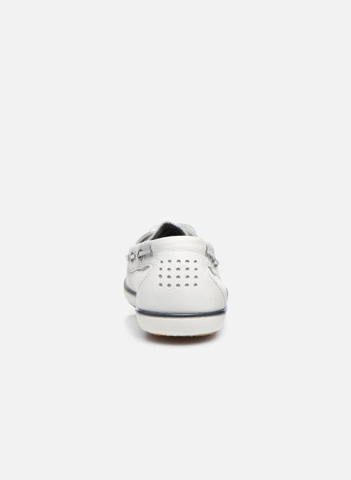 Zapatos con cordones TBS Clamer Blanco vista lateral derecha
