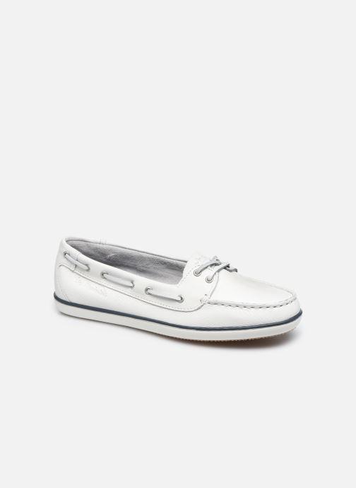 Zapatos con cordones TBS Clamer Blanco vista de detalle / par