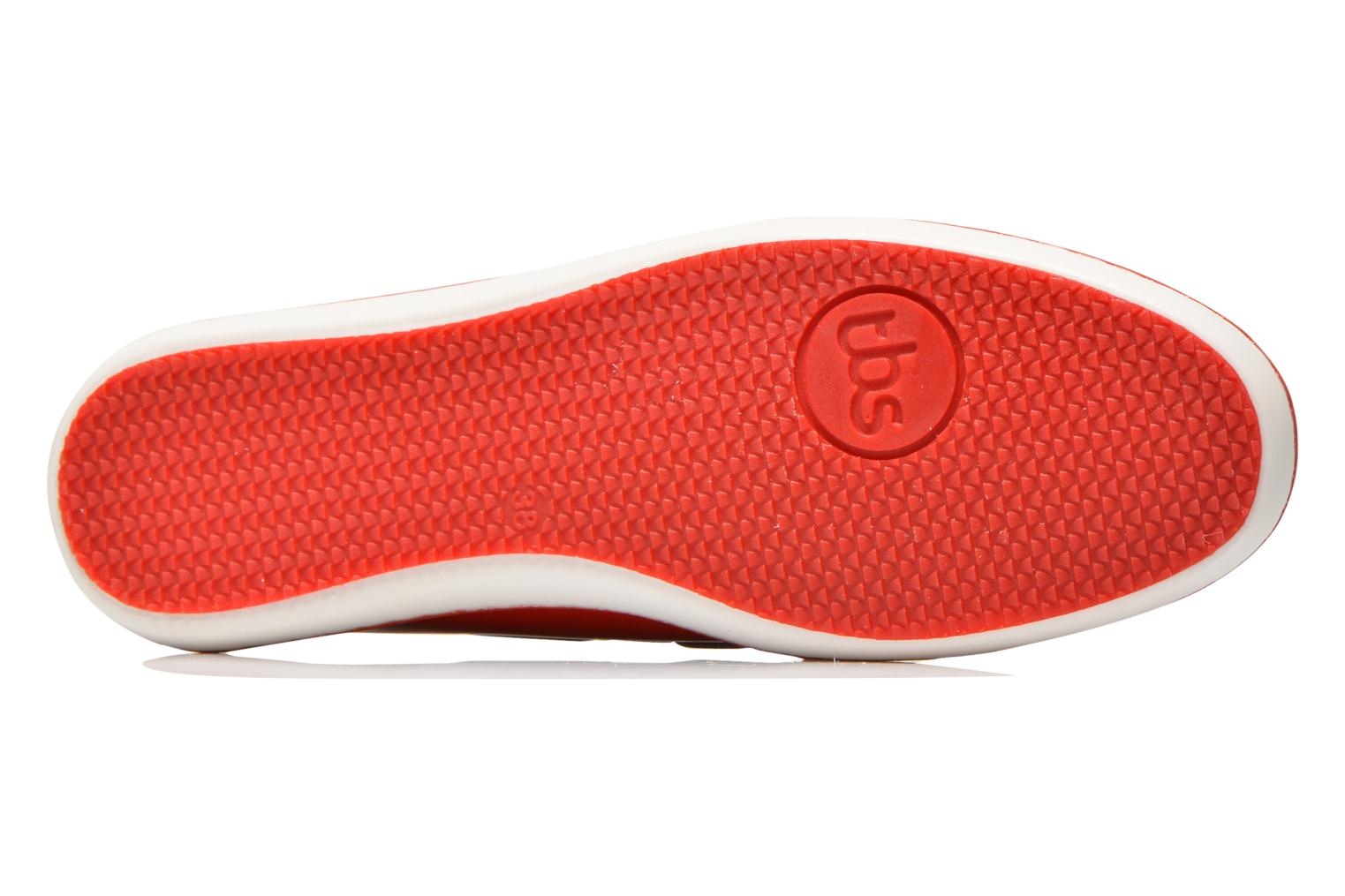 Lace-up shoes TBS Clamer Red view from above