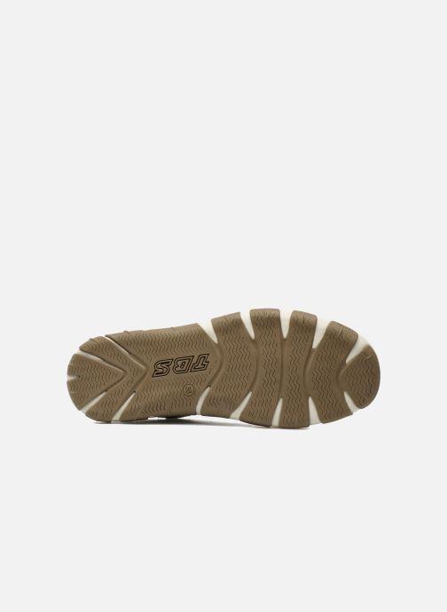 Chaussures à lacets TBS Jazaru Marron vue haut