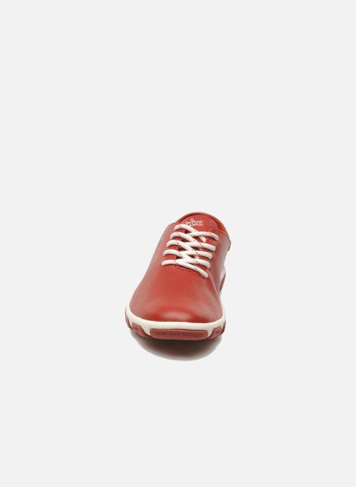 Schnürschuhe TBS Jazaru rot schuhe getragen