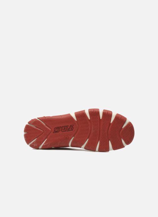 Chaussures à lacets TBS Jazaru Rouge vue haut
