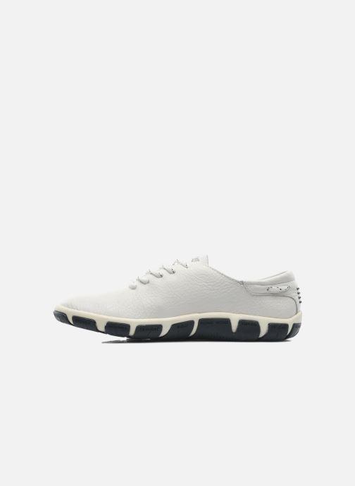 Zapatos con cordones TBS Jazaru Blanco vista de frente