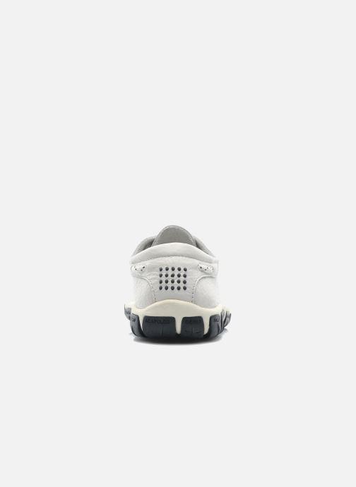 Zapatos con cordones TBS Jazaru Blanco vista lateral derecha