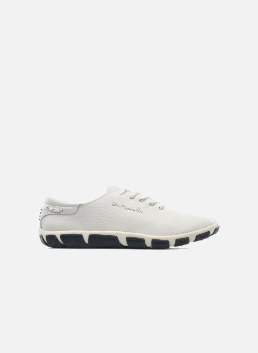 Zapatos con cordones TBS Jazaru Blanco vistra trasera