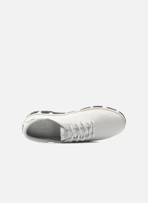 Zapatos con cordones TBS Jazaru Blanco vista lateral izquierda