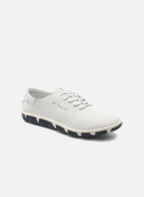 Snøresko TBS Jazaru Hvid detaljeret billede af skoene