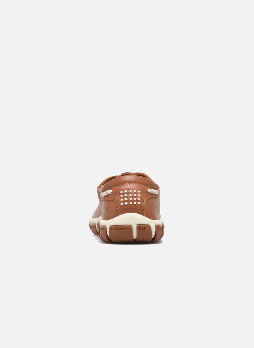 Chaussures à lacets TBS Jazaru Marron vue droite