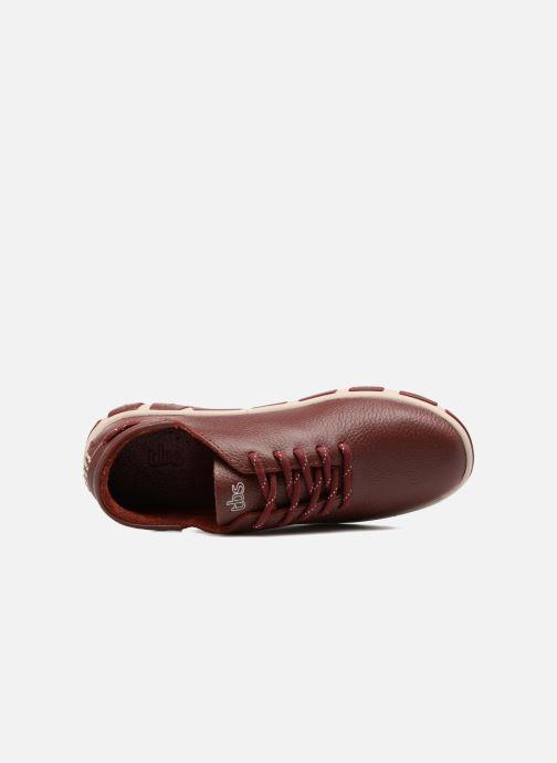 Chaussures à lacets TBS Jazaru Bordeaux vue gauche