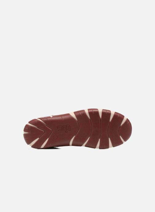 Chaussures à lacets TBS Jazaru Bordeaux vue haut