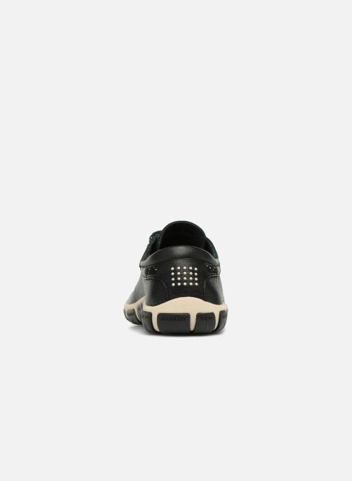 Chaussures à lacets TBS Jazaru Noir vue droite