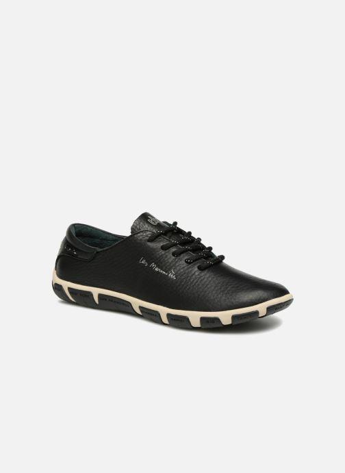 Chaussures à lacets TBS Jazaru Noir vue détail/paire