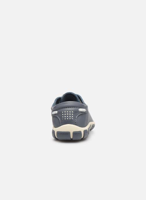 Chaussures à lacets TBS Jazaru Bleu vue droite