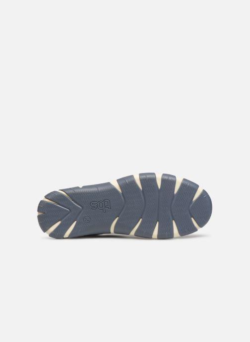 Chaussures à lacets TBS Jazaru Bleu vue haut